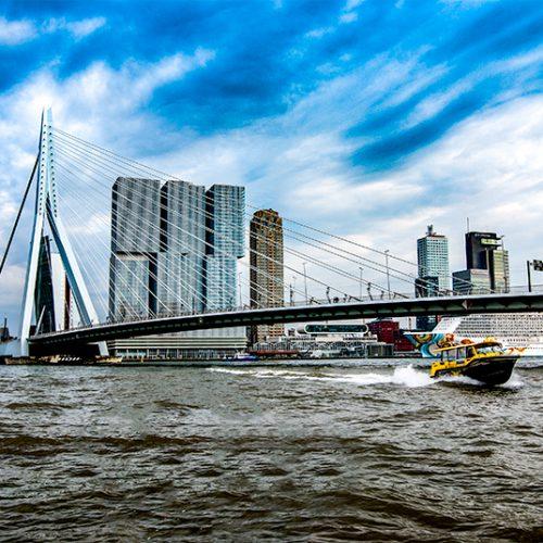 Watertaxi, landschapsfotografie, urban , Rotterdam